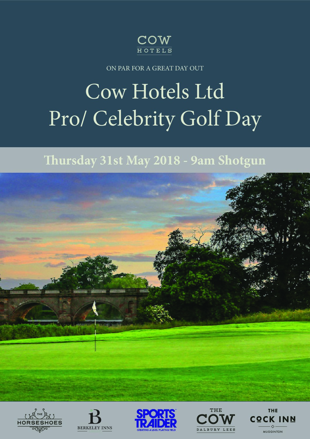 Cow Hotels Ltd Pro/Celebrity Golf Day