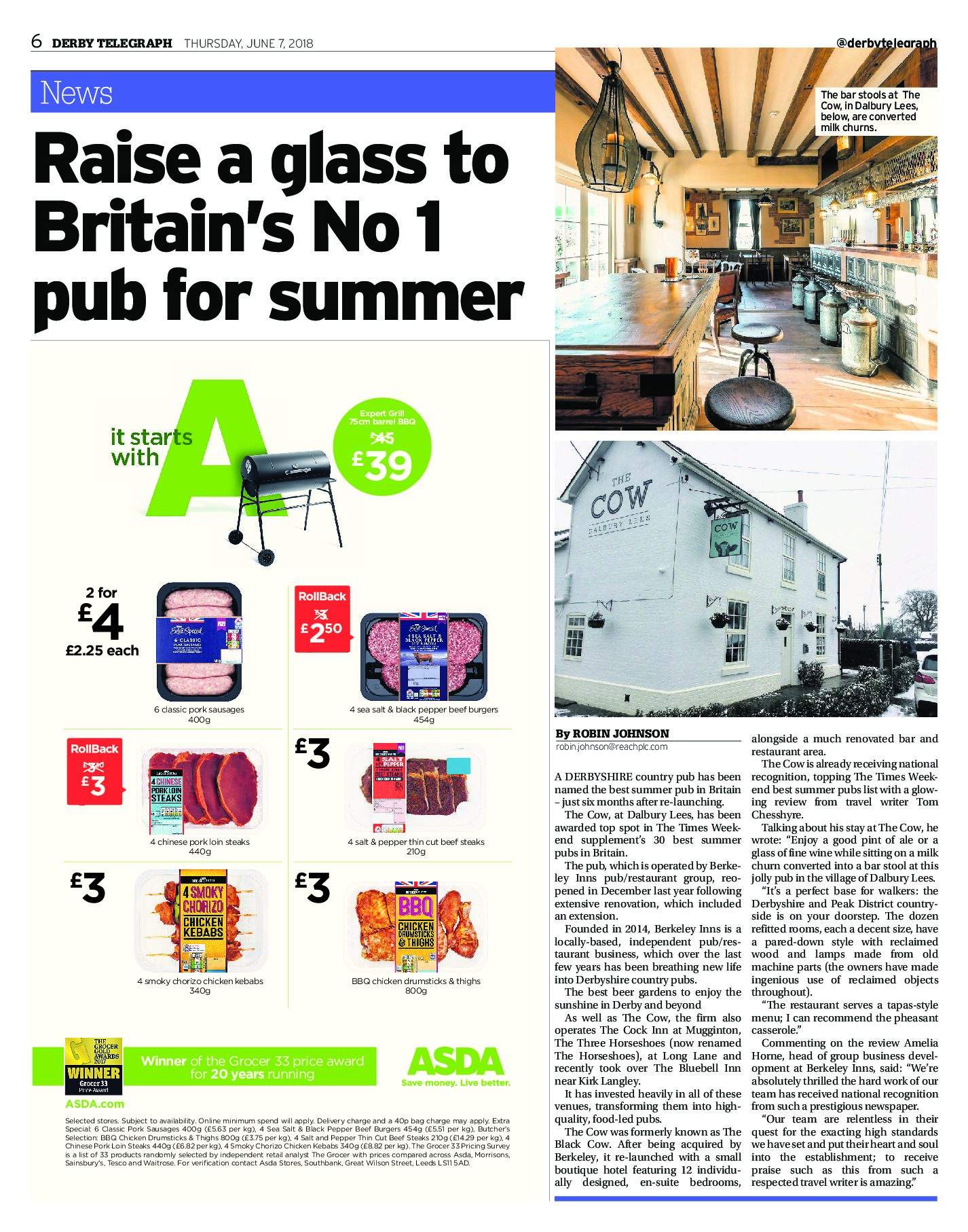 Derby Telegraph | June 7, 2018