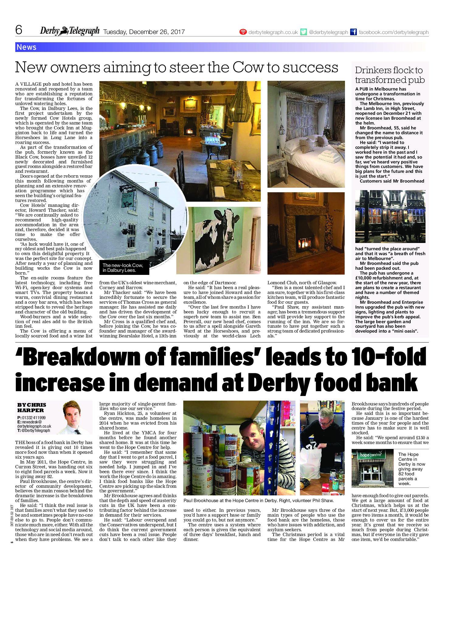 Derby Telegraph | December 26, 2017