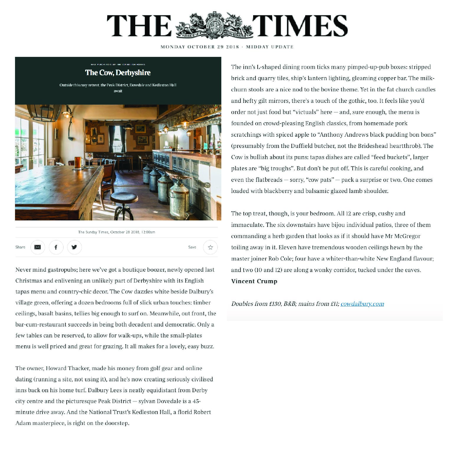 The Times | 29 October 2018