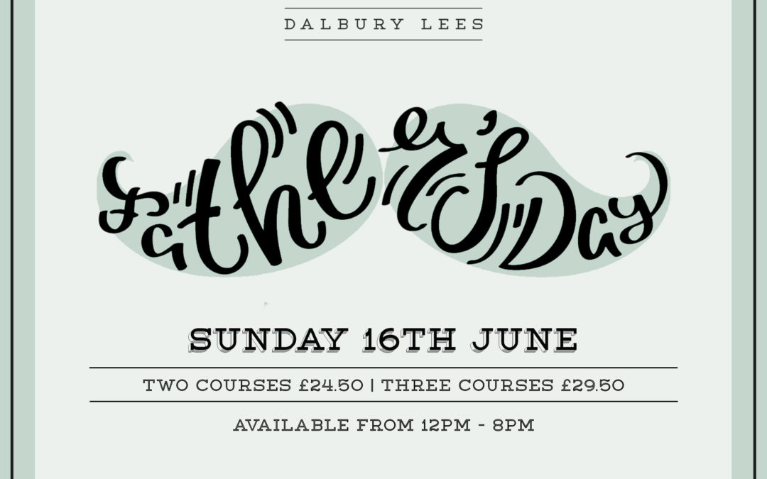 Father's Day | Sunday 16th June