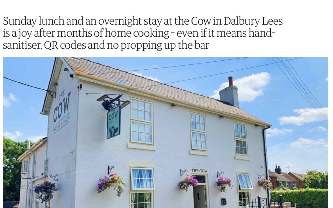 The Guardian – We're at a pub – and staying the night! A post-lockdown break in the Derbyshire Dales