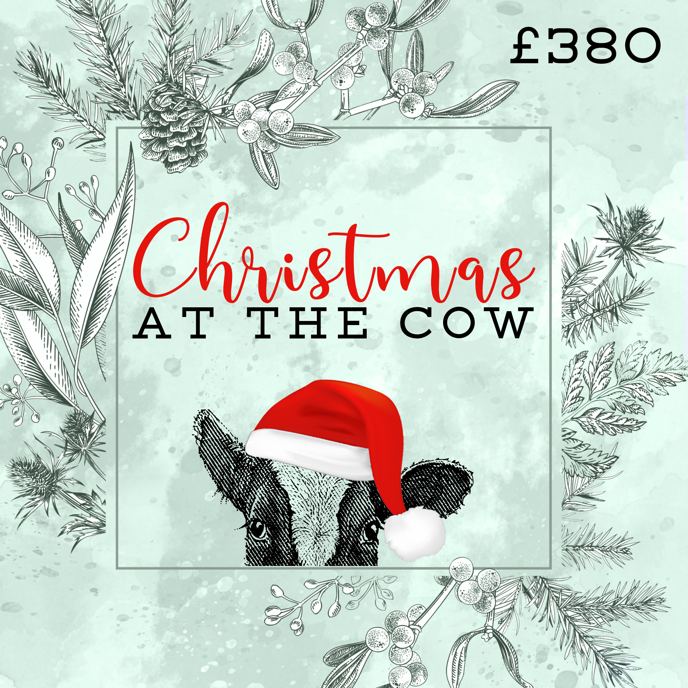 Christmas at The Cow - Website